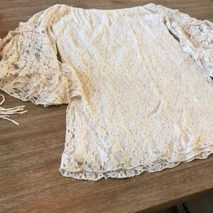 Dress all lace by elan with liner cotton